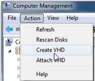 how to create virtual cd drive in windows 7